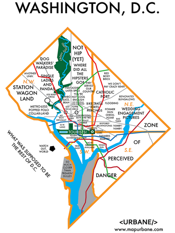 Washington, DC: Neighborhood Culture Map