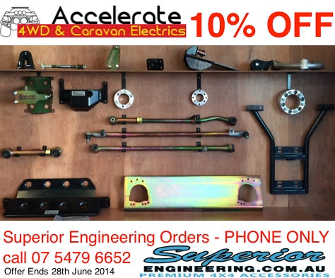 10% off Superior Engineering Products
