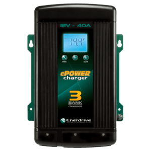 Accelerate 4wd and Caravan Electrics ePOWER Smart Charger 40amp / 12v