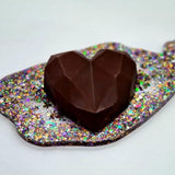 Gourmet Chocolate  Nutella Filled Heart