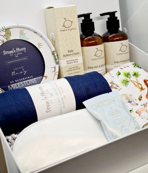 Navy Safari Premium Baby Gift Box
