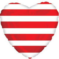 Red Stripes Heart