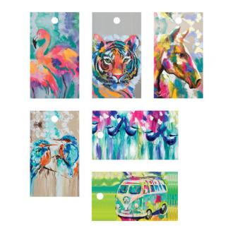 Amanda Brooks Artist - Animal Gift Tags