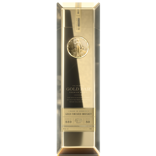 Gold Bar Blended Whiskey Personalised