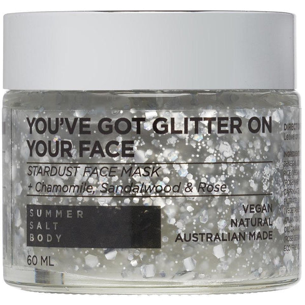 You've Got Glitter On Your Face - Stardust Face Mask 50ml