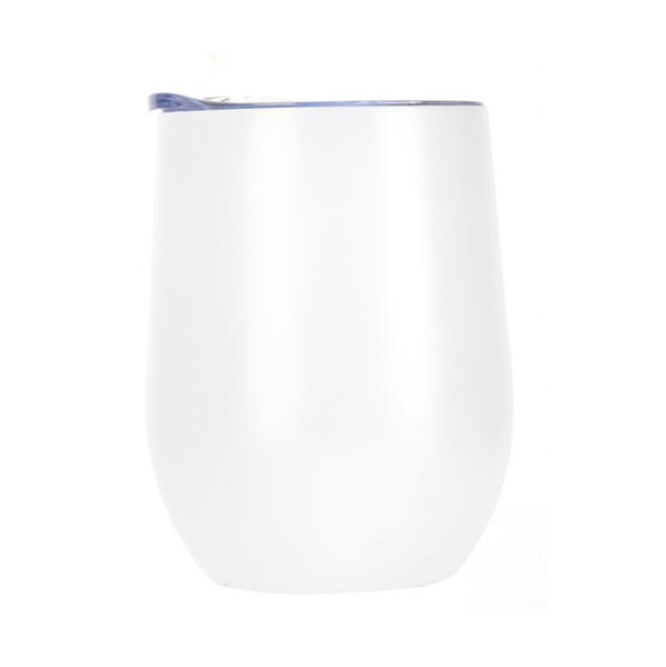 12oz Wine Tumbler (White)