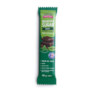 Natvia Mint Dark Chocolate 40g - Natvia Sugar Free