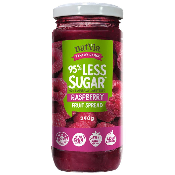 Raspberry Fruit Spread - Natvia Sugar Free