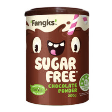 Load image into Gallery viewer, Fangks Sugar Free Chocolate Powder - Natvia Online Store