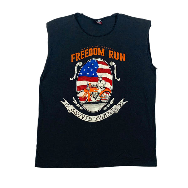 Freedom Run Sauvie Island 1996 Muscle Tee