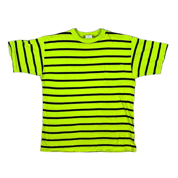 Jacomino Lime Striped Tee