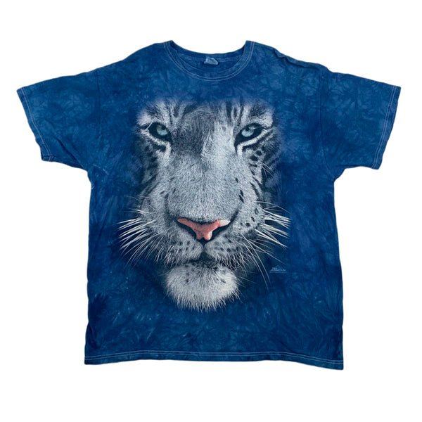 MODERN The Mountain White Tiger Face Tee