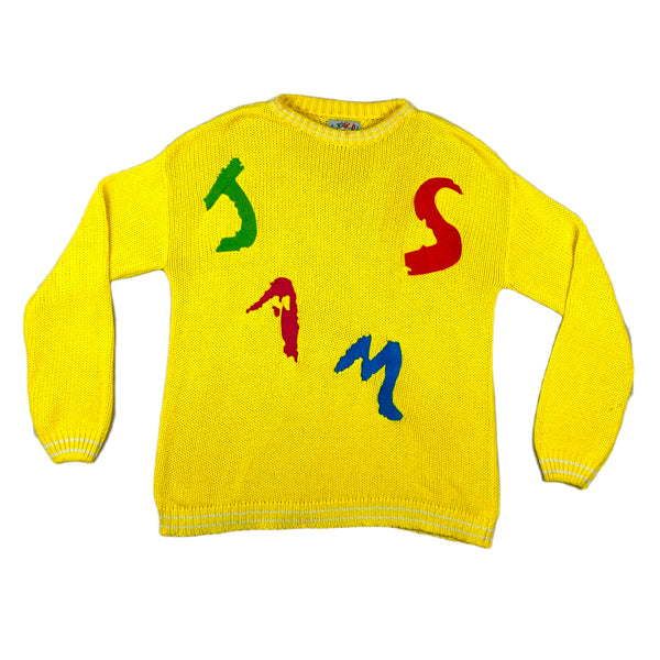Jams World Logo Knit Sweater