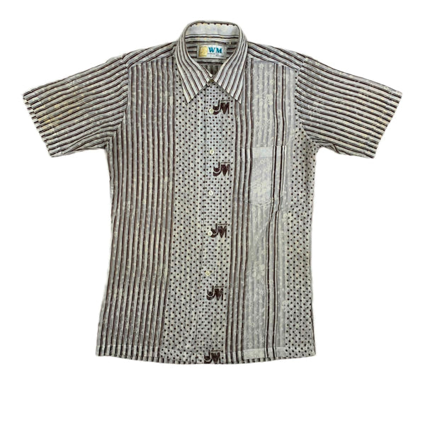 John Meyer Stripes & Dots Shirt