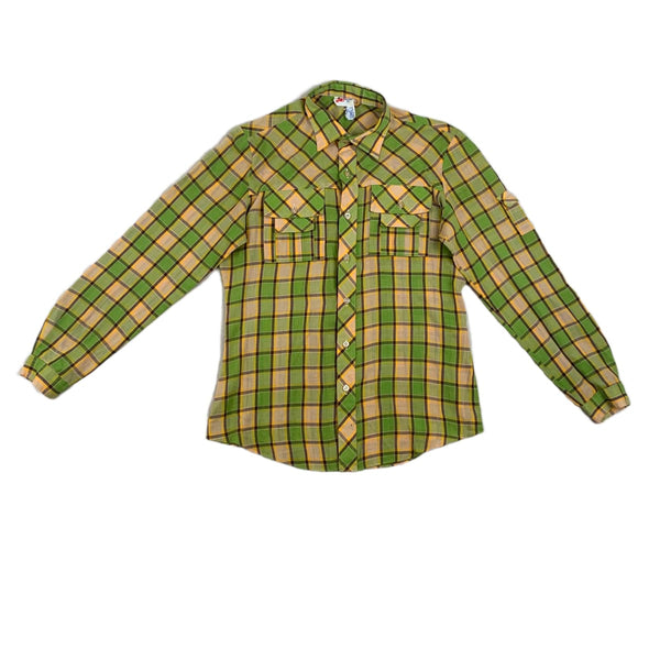 Jackie Jones Plaid Shirt