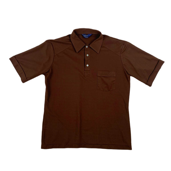 The Men's Shop Brown Polo