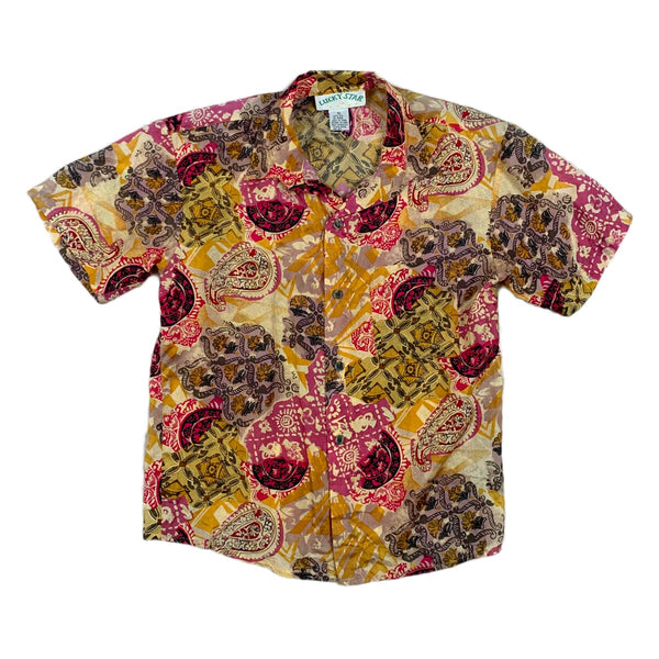 Lucky Star Silk Paisley Shirt