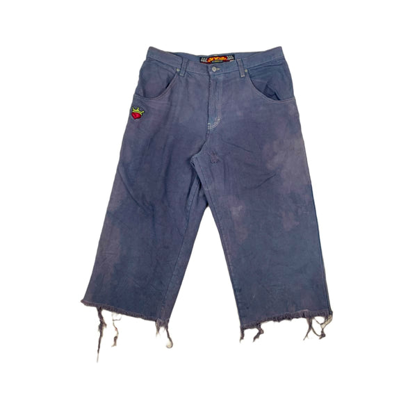 JNCO Pipes Over Dyed Jeans