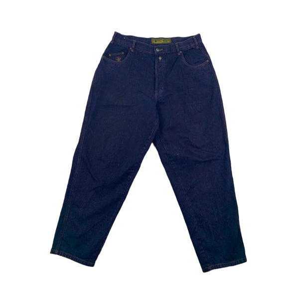 Bugle Boy Dark Purple Jeans