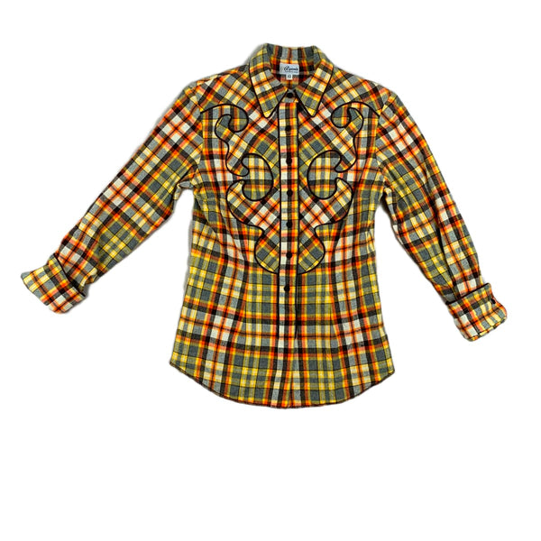 Ryon's Plaid Western Top