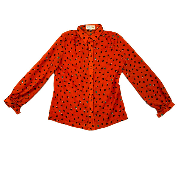 Jolie Orange Floral Top