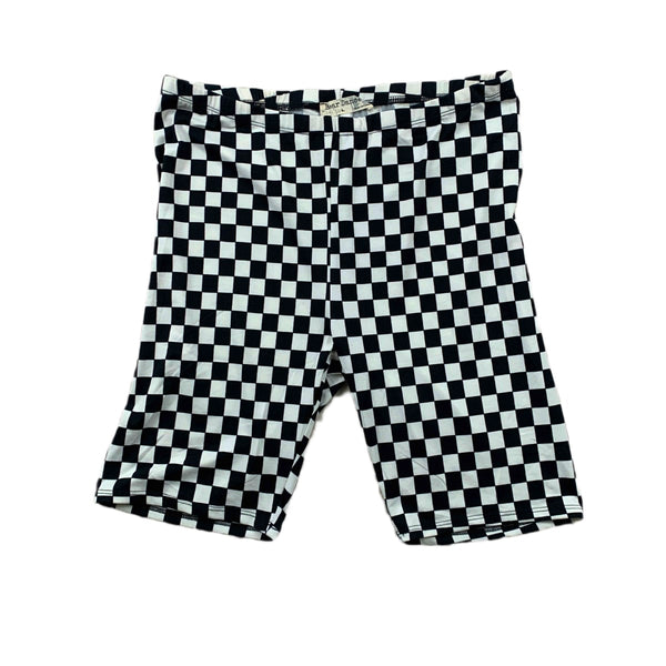 NEW Bear Dance Checkered Bike Shorts