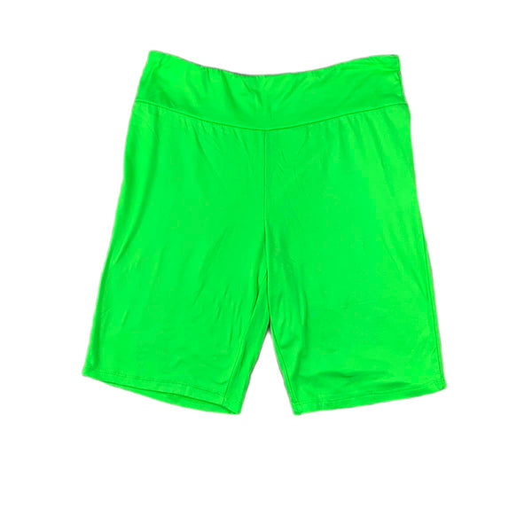 NEW Hearts & Hips Lime Bike Shorts