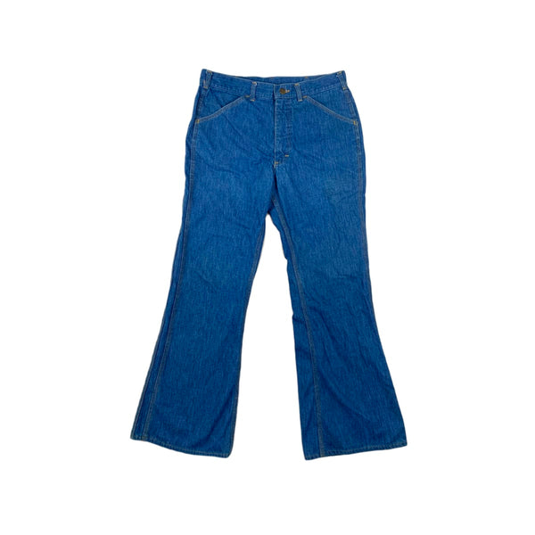 Lee Diagonal Pocket Flares