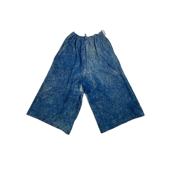 Paper Bag Acid Wash Culottes