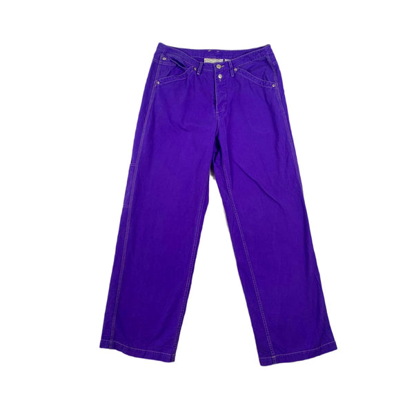 Express Purple Wide Leg Pants