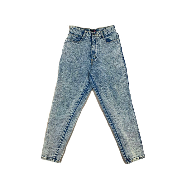 Sasson Acid Wash Slim Leg Jean