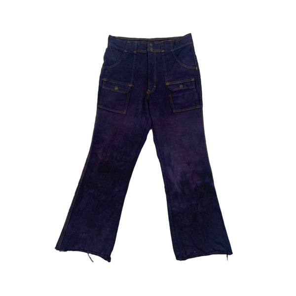 GAP Over Dyed Flared Jeans