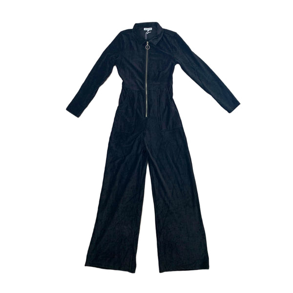 NEW Emory Park Ribbed Velvet Jumpsuit