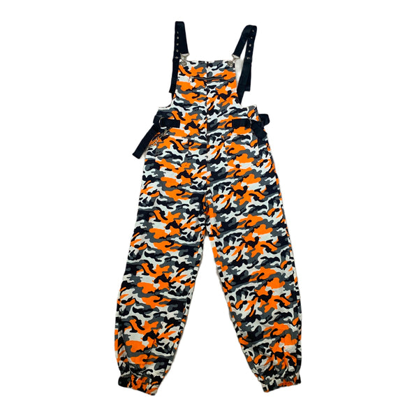 NEW 36 Point 5 Orange Camo Overalls