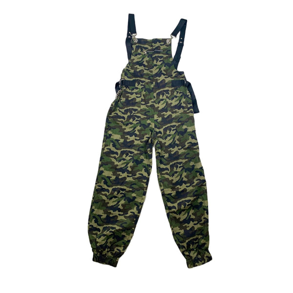 NEW 36 Point 5 Green Camo Overalls