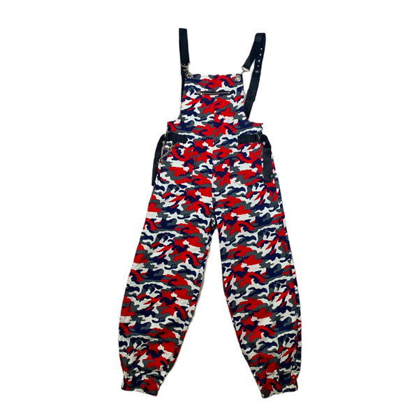 NEW 36 Point 5 Red Camo Overalls