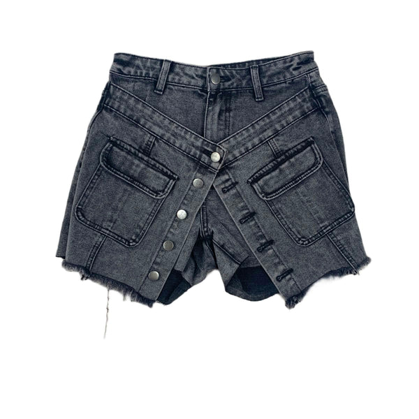 NEW American Bazi Layered Denim Shorts