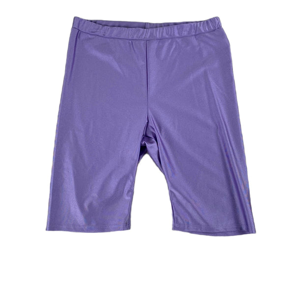 NEW Timing Metallic Lavender Bike Shorts