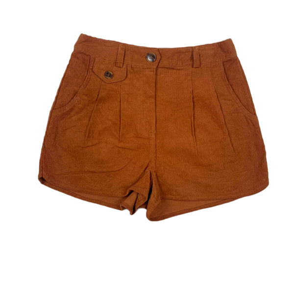 NEW Loveriche Tan Corduroy Shorts