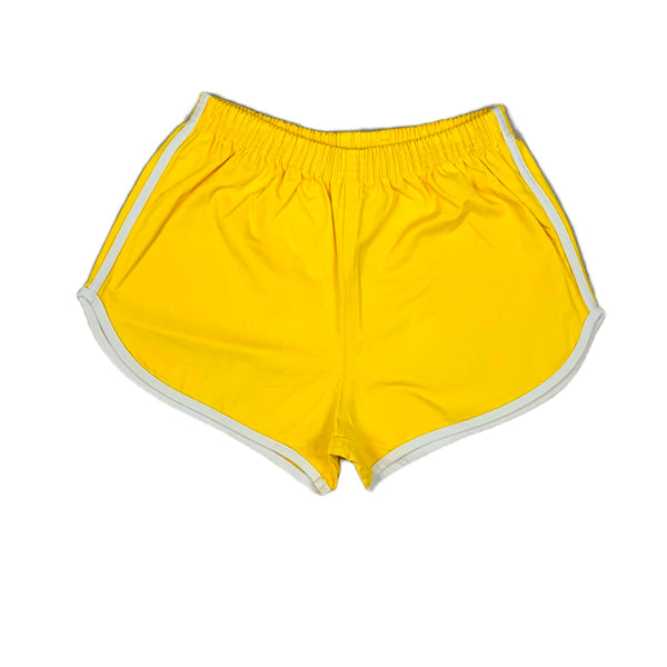 NEW Hearts & Hips Yellow Gym Shorts