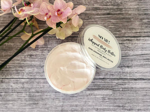 SO ME Rose & Rose Geranium Whipped Body Butter 250g