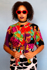 Funky Colourful Printed Shirt