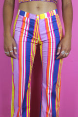 Hipster Rainbow Stripe Trousers