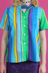 Multi Colour Stripe Shirt