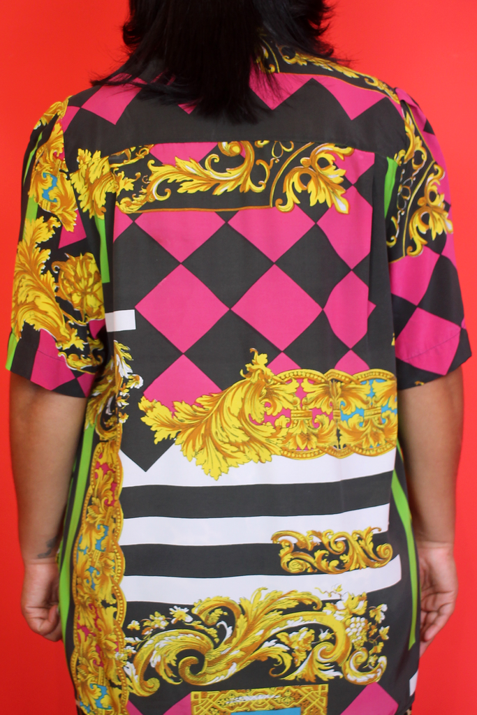 Funky Colourful Baroque Shirt