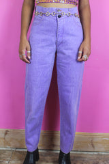 Lilac High Waisted Mom Jeans