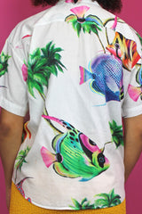 Tropical Fish Print Shirt