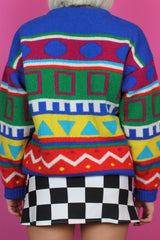 Rainbow Geometric Jumper