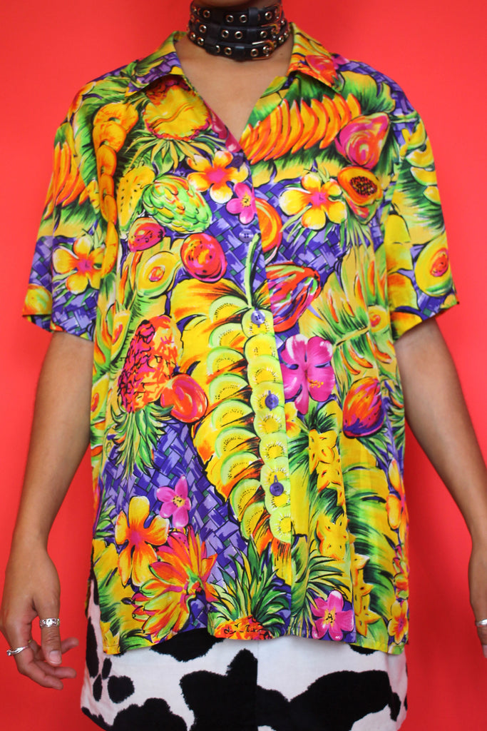Tropical Fruity Laurel Shirt
