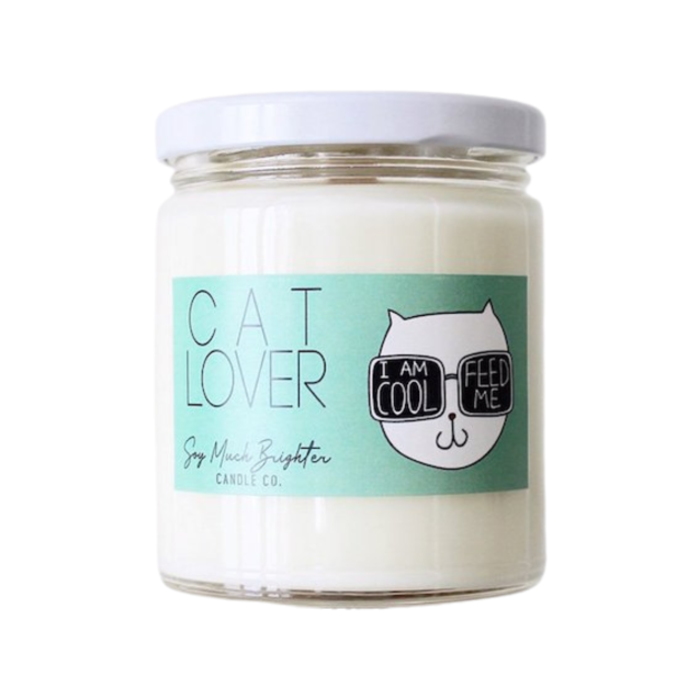 Cat Lover: Cocoa Butter + Vanilla + Amber || 8oz.